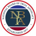 NBTA - National Board of Trial Advocacy logo - Kornreich & Associates law firm
