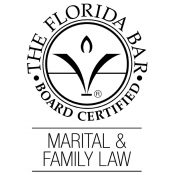 Florida Bar Certification logo - Marital & Family Law - Kornreich & Associates law firm