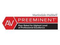 Martindale Hubbell logo - AV rating for Gerald Kornreich