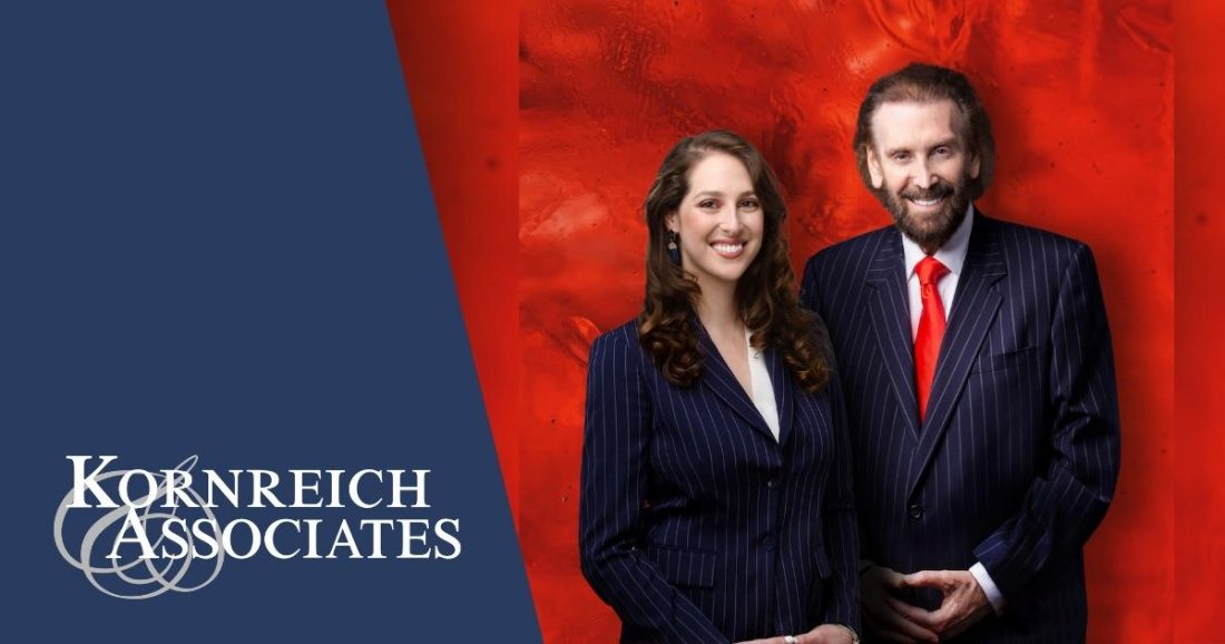Kornreich & Associates - marital and family law firm in South Florida - image of Amber and Gerald Kornreich